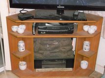 110v. Electric Logs in Corner TV Stand in Conroe, Texas