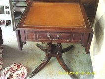 ANTIQUE SMALL DRPOP LEAF TABLE OUR PRIVATE COLLECTION in Glendale Heights, Illinois