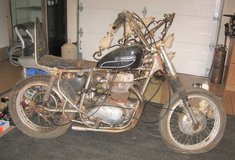 Motorcycle Built from Scavenger Parts - Harley - Engine not Frozen in St. Charles, Illinois