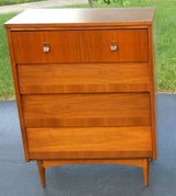Mid-Century Modern High-boy Dresser in Bolingbrook, Illinois