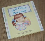 Miss Polly Had A Dolly Hard Cover Board Book Polly and Dolly Catch Chicken Pox in Chicago, Illinois