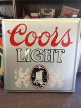 Coors Light Sign - silver in Bartlett, Illinois