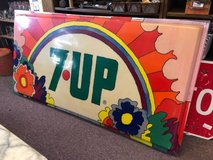 Large 7up Sign - 1973 in Bartlett, Illinois