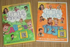 NEW Lot of 2 Little Angels 123 ABC 123s ABCs Alphabet Numbers DVD + Digital Copy in Plainfield, Illinois