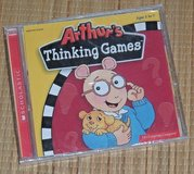 NEW Vintage 2001 Arthurs Thinking Games PC 6 Learing Adventures 30 Activities in Joliet, Illinois