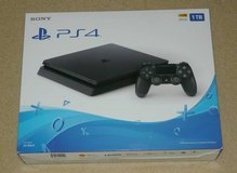 New Sony Playstation 4 PS4 Slim 1TB Jet Black in Westmont, Illinois