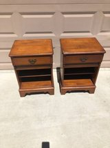 Vintage Solid Wood Set Of Nighstands in Fairfield, California