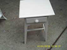 TABLE LOW PROFILE ALL WOOD WITH DRAWER MINT in Orland Park, Illinois