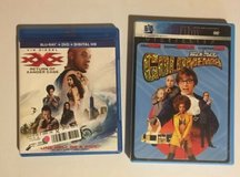 xxx: return of xander cage (blu-ray/dvd, 2017) and austin powers goldmember in Bolingbrook, Illinois