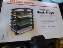 Letter size desk trays in Naperville, Illinois