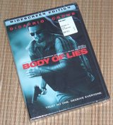 NEW Body of Lies DVD Widescreen Leonardo DiCaprio Russell Crowe Drama SEALED in Oswego, Illinois