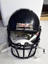 L, Med and SM/Med (3) Riddell Youth Football helmets with chin straps in Chicago, Illinois