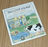 Vintage 1993 Theres A Cow In The Road Hard Cover Book in Chicago, Illinois