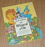 Vintage 1993 Wizard of Oz Look and Find 1st Edition Over Sized Hard Cover Book in Chicago, Illinois