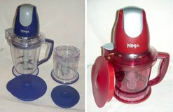 2 Ninja Storm Blenders w/40oz 48oz Jar Containers in Naperville, Illinois
