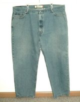 Levis 550 Relaxed Fit Stonewash Jeans Mens Tag 46 x 30 Measures 44 x 29 in Chicago, Illinois