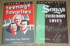 Vintage 1958 & 1963 Singspiration Songbooks Teenage Favorites & Songs Everybody Loves in Joliet, Illinois