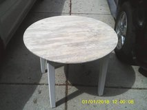 TABLE BY THE LAND OF NOD COMPANY MINT ALL WOOD in Glendale Heights, Illinois