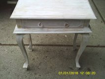 SIDE TABLE ALL WOOD WITH A DRAWER in Chicago, Illinois