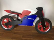 kiddimoto kids wood balance bike in Wiesbaden, GE