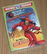 NEW Retro TV Toons Where on Earth is Carmen Sandiego ACME's Most Wanted DVD in Yorkville, Illinois