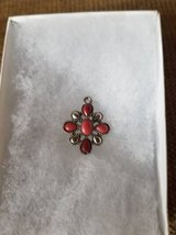 New coral stone pendant by Chaps in Camp Pendleton, California