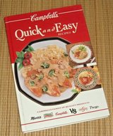 Vintage 1993 Campbells Quick Easy Recipes Hard Cover Book Franco Prego Swanson in Chicago, Illinois