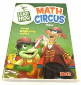Leap Frog Math Circus Video DVD Numbers Counting Addition Subtraction in Chicago, Illinois
