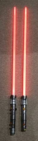 Master Replicas Star Wars Darth Maul Lightsaber in Bartlett, Illinois