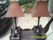 LAMPS SET OF 2 SHADES INCLUDED in Westmont, Illinois
