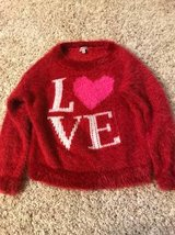 Juicy couture girls fuzzy sweater size S 6/8 in Westmont, Illinois