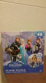 "Disney Frozen Floor Puzzle (46-Piece) 24"" x 36"" Styles Will Vary (T=38 in Fort Campbell, Kentucky"