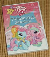My Little Pony Twinkle Wish Adventure DVD 4 Activities 6 Sing Along Xmas Holiday in Morris, Illinois