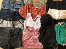 Lot of girls/ women's clothes size 3/4 XS in Bolingbrook, Illinois