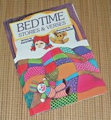 Vintage 1986 Bedtime Stories & Verses Retro Hard Cover Picture Book in Joliet, Illinois