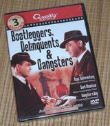 NEW Bootleggers Delinquents Gangsters 3 Movie DVD Boys Reformatory Dark Mountain in Bolingbrook, Illinois