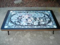 Asian/Oriental coffee table (can be hung on wall when not in use) in Naperville, Illinois
