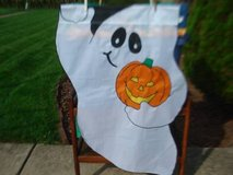 FULL SIZE Garden Flags - Mickey/Minnie/Ghosts & Garfield in Naperville, Illinois