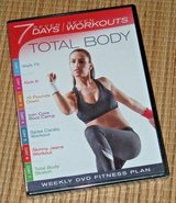 NEW Total Body DVD 7 Days 7 Workouts Exercise Fitness Walk Kick Core Cardio in Chicago, Illinois