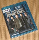 NEW The Almighty Johnsons Sesaon 1 BluRay 3 Disc Set Unedited Version SEALED in Morris, Illinois