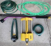 50 Foot -OR- 75' Garden Hose + Sprinkler Head $10-$15 in Orland Park, Illinois