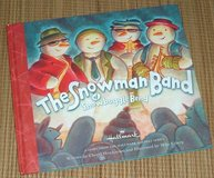 Hallmark The Snowman Band of Snowboggle Bend Hard Cover Book in Yorkville, Illinois