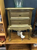 Gold End Table in Naperville, Illinois