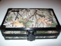 "vaultz locking supply box camo design black hardware 5 x2.5 x 8.5"" 12x 6x 20cm in Plainfield, Illinois"