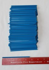 "188 MICRO K'NEX BLUE 4.5"" RODS * MINI K'NEX PARTS/PIECES LOT in Glendale Heights, Illinois"