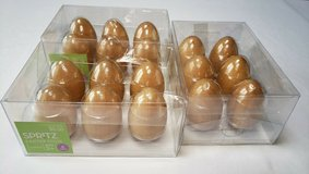 18 WOOD PAINTABLE EGGS * 3 sets of 6 in Bolingbrook, Illinois