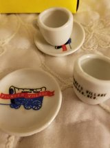 Miniature 9 piece china souvenir set in Camp Pendleton, California