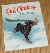 Vintage 1990 Alexandra Day Hard Cover Book Alexandra Day Holiday Rottweiler in Chicago, Illinois