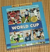 NEW World Cup Legendary Sports Events 3 Disc CD Audiobook Unabridged  Age 8-11 Grade 3rd-7th in Morris, Illinois