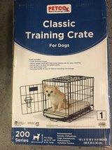 Dog training crate in Naperville, Illinois